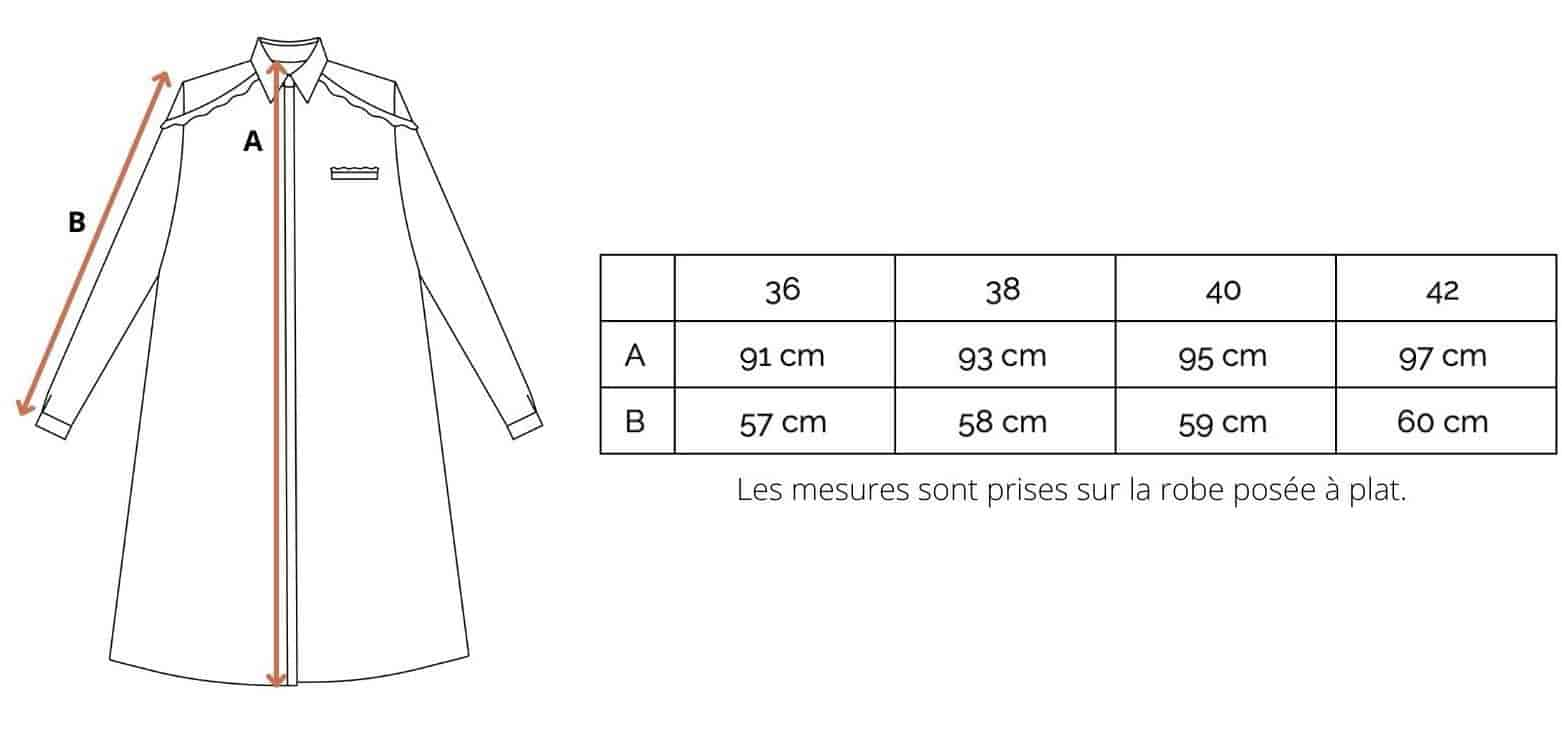 Marque slow fashion s'habiller Made in France marque de vêtement française marque française mode site de vêtement français vetement ethique Vêtements femme Made in France vêtements bio made in france vêtement made in france robe chemise made in france robe française robe éthique petite robe française robe femme made in France  robe de soirée made in france